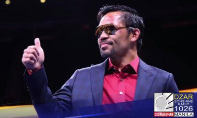 Handang tumakbo bilang independent candidate sa nalalapit na 2022 si Senator Manny Pacquiao.Ito ay kapag hindi papanigan at kikilalanin ng (COMELEC)