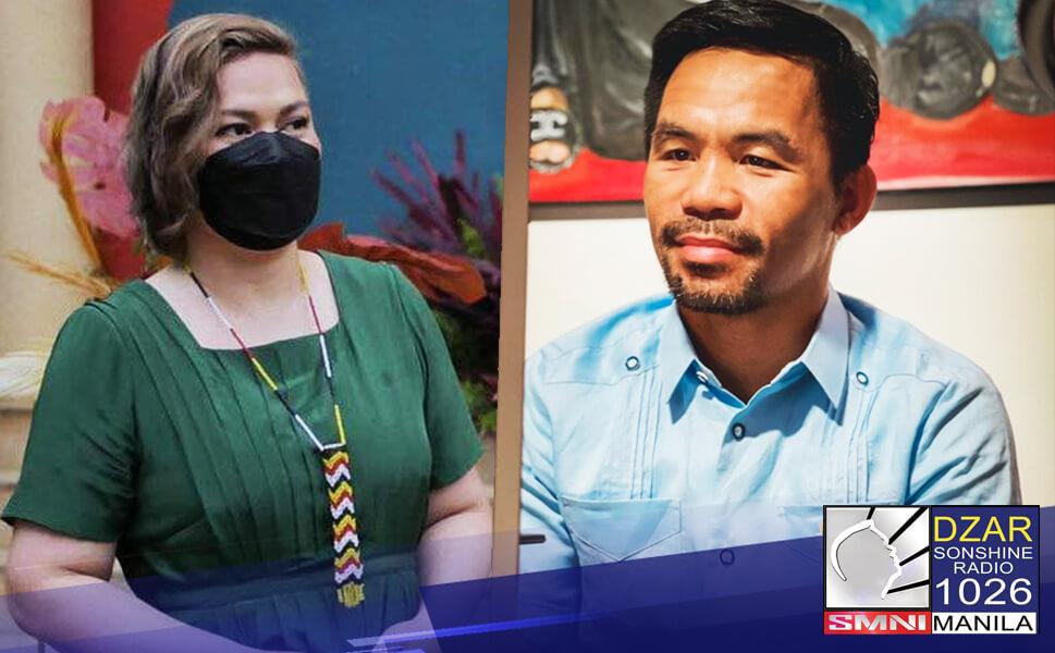 Nanawagan si PDP-Laban Secretary General Melvin Matibag sa Pacquiao group na huwag nang idamay si Davao City Mayor Sara Duterte Carpio