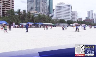 Pang. Duterte, dinepensahan ang paglalagay ng dolomite sand sa Manila Bay