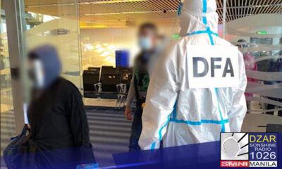 Hinimok ni Senador Francis 'Tol' Tolentino ang DFA at Department of Labor and Employment (DOLE) na bilisan ang repatriation ng mga Pinoy