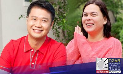 Inanunsyo ni Sen. Sherwin Gatchalian ang hangarin niyang tumakbo sa pagkabise presidente kung si Davao City Mayor Sara Duterte Carpio ang kaniyang magiging running mate para sa 2022 elections.