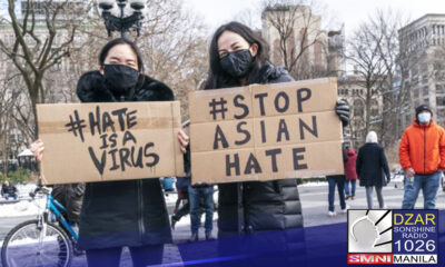 Nakiisa ang Malakanyang sa panawagan na ihinto na ang anti-Asian violence sa Estados Unidos.