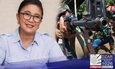 Hinamon ni Pastor Apollo C. Quiboloy, ang chairman ng SMNI News si Vice President Leni Robredo na subukan nitong ikutin ang mga barangay na apektado npa