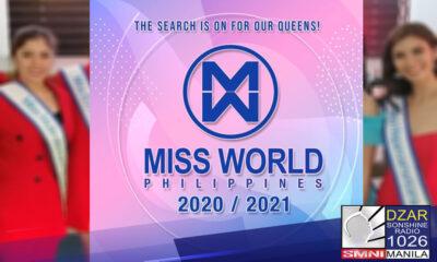 Kanselado ang koronasyon ng Miss World Philippines 2021 sa linggo, Agosto a-8 bilang pagtalima sa ipatutupad na Enhanced Community Quarantine (ECQ) sa Metro Manila simula ngayong Biyernes.