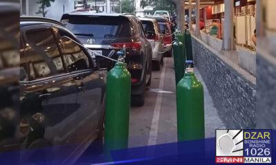 Iimbestigahan ng Philippine National Police ang posibleng hoarding ng oxygen tanks at iba pang medical supplies sa gitna ng banta ng COVID-19.