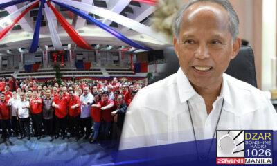 Nanawagan ngayon si Partido Demokratiko Pilipino–Lakas ng Bayan (PDP Laban) Energy Sec. Alfonso Cusi sa mga kasamahan nito sa partido na makiisa sa laban ng bansa kontra COVID-19.
