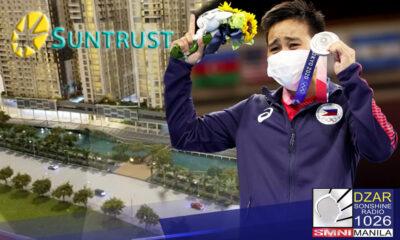 Silver medalist Nesthy Petecio, makatatanggap ng isang P10-million fully furnished condo unit sa Davao City