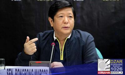 """Iginiit ni dating Senador Ferdinand 'Bongbong"""" Marcos Jr. na bukas itong tumakbo sa anumang national position sa paparating na 2022 elections."""