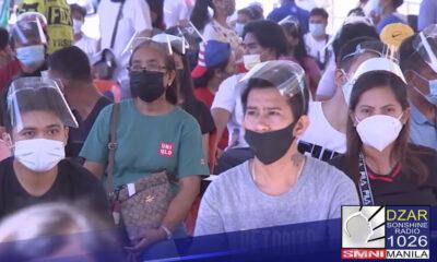 Inaprubahan na ang COVID-19 vaccination sa general population kasama ang mga menor de edad simula Oktubre.Presidential Spokesperson Harry Roque