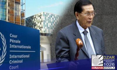 Dapat nang ideklarang persona non grata ng Pilipinas ang International Criminal Court (ICC).