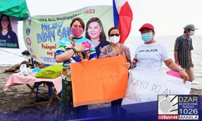 Pormal nang inilunsad ng grupong INA o Inday na Aagapay ang kanilang suporta para kay Davao City Mayor Sara Duterte-Carpio.