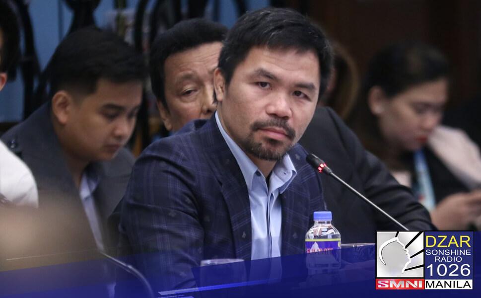 Para maging komportable kay Senator Manny Pacquiao ang alok na debate, nagbigay si Pastor Apollo C. Quiboloy chairman ng SMNI ng partidang katanungan