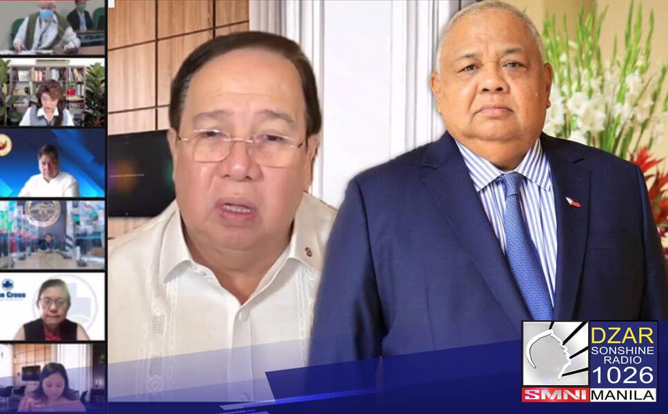 Hinamon ni Executive Secretary Salvador Medialdea ang mga senador na magsampa nalamang ng kaso laban sa pamahalaan