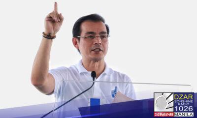 Manila Mayor Moreno, pormal nang inanunsyo ang kanyang pagtakbo sa pagkapangulo