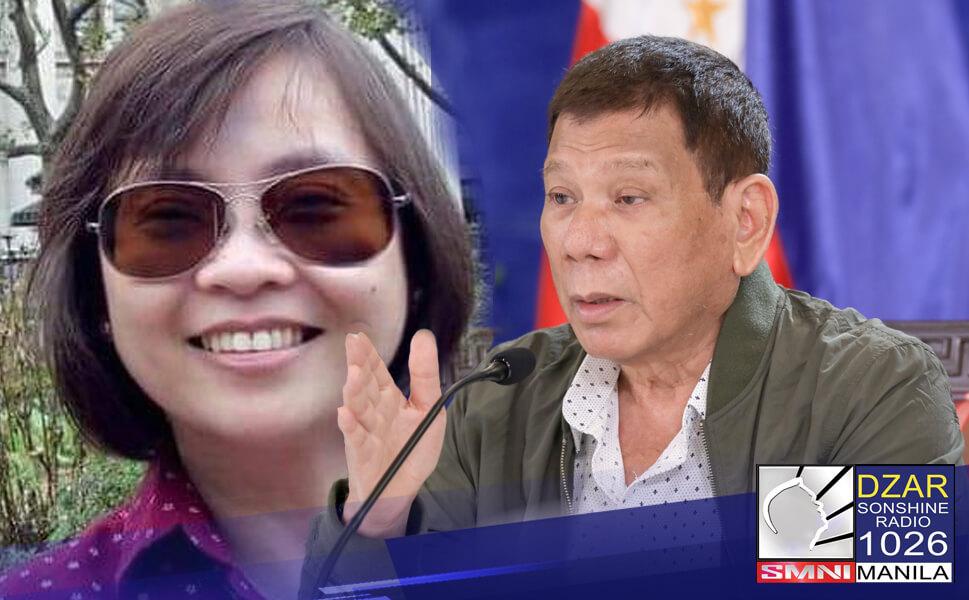 Kritikal sa administrasyon lalo na kay Pangulong Rodrigo Duterte ang isa sa mga pamangkin nito na ngayon ay nakabase na sa New Zealand.