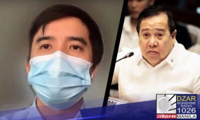 Ikinumpara ni Pangulong Rodrigo Duterte sa Martial Law ang pag-detine ng Senado sa ilang opisyal ng Pharmally.