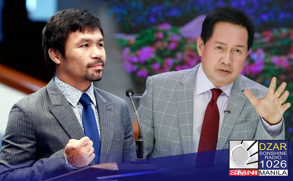 Hinamon ng isang marangal na debate ni Pastor Apollo C. Quiboloy, executive pastor at chairman at CEO ng Sonshine Media Network si Senator Manny Pacquiao.