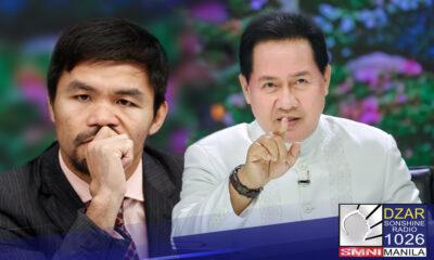 MULING pinuna ni Pastor Apollo C. Quiboloy ng The Kingdom of Jesus Christ at chairman ng SMNI si Senator Manny Pacquiao sa posible nitong pagtakbo sa pagkapangulo sa darating na halalan.