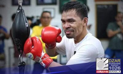 Kasunod ng pormal na pag-anunsyo ni Sen. Manny Pacquiao sa kaniyang pagreretiro sa mundo ng boxing, sinabi ni Pastor Apollo C. Quiboloy