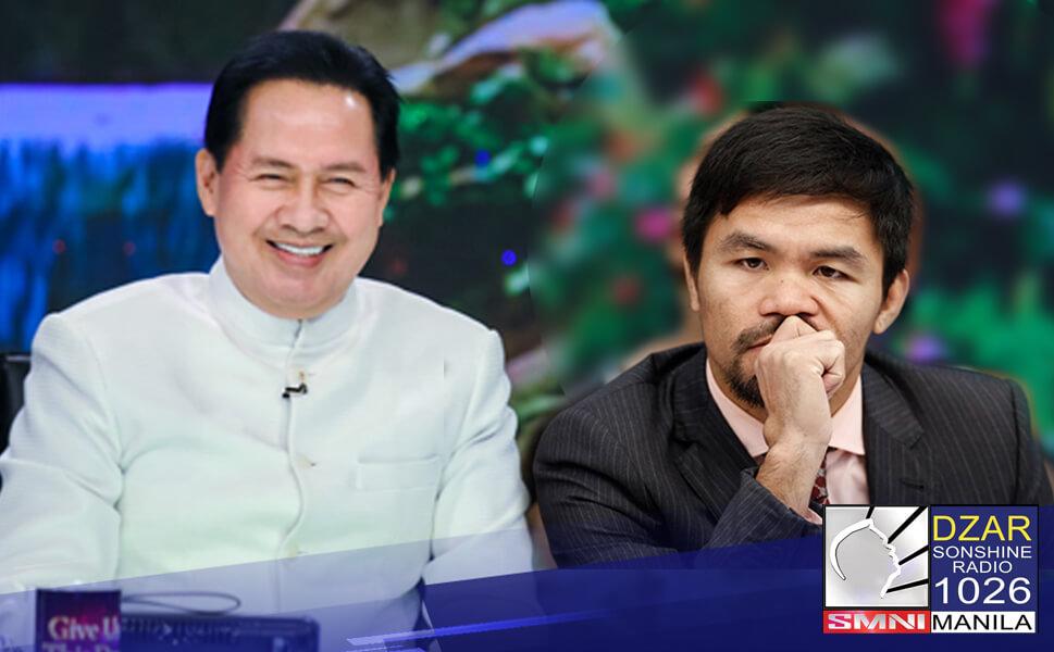 Pastor Apollo C. Quiboloy, handang harapin ang libel case na isinampa ni Pacquiao