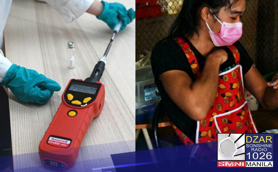 Posibleng makapag-detect ng infection ng COVID-19 ang isang aparato sa Thailand gamit lamang ang pawis sa kili-kili.