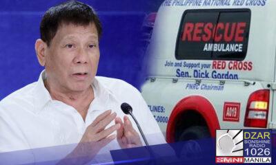 Tinuruan ni Pangulong Rodrigo Duterte ng pagkakaroon ng delicadeza si Senator Richard Gordon.