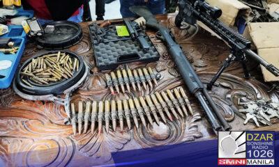 Ipinag-utos ni PNP chief Police General Guillermo Eleazar ang malalimang imbestigasyon sa mga nadiskubreng high-powered firearms