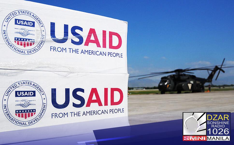 Tumanggap ang Pilipinas ng 11.3 milyong dolyar na halaga ng tulong mula sa Estados Unidos para sa kampanya kontra COVID-19.