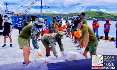 Naghatid ng tulong ang Philippine Navy sa probinsya ng Batanes na nakaranas ng hagupit ng bagyong Kiko.