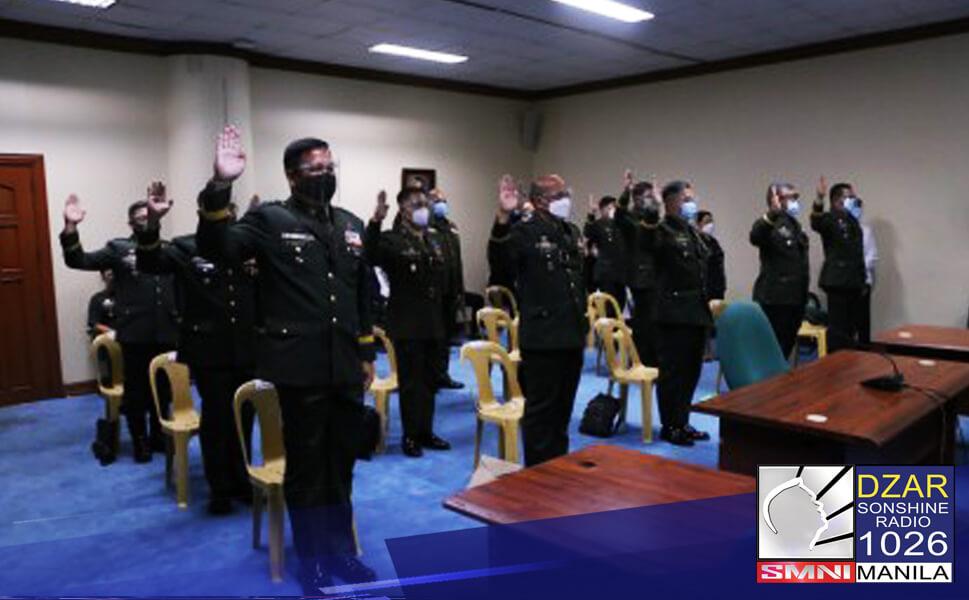 Pinasalamatan ng Armed Forces of the Philippines (AFP) ang Commission on Appointments (CA) sa pag-apruba sa promosyon ng ilan nilang matataas na opisyal.