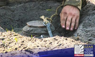 Sinuportahan ng Armed Forces of the Philippines (AFP) ang Memorandum of Agreement (MOA) laban sa paggamit ng landmine ng mga communist terrorist.