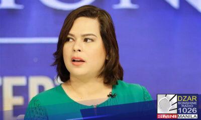 Sara Duterte, muling tatakbo sa pagiging alkalde sa 2022