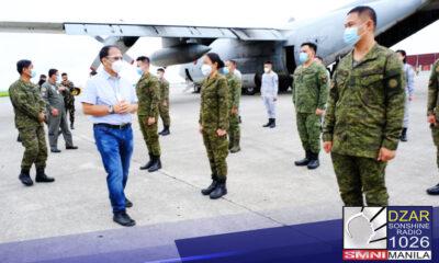 Papasok ang Armed Forces of the Philippines (AFP) sa isang kasunduan sa Department of Health (DOH) kaugnay ng pagpapadala ng kanilang mga tauhan sa mga ospital