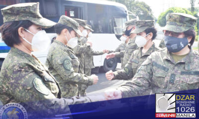 8 militar nurse, idineploy na sa Lung Center of the Philippines