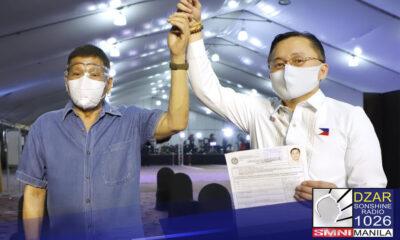 Inihayag ni Senador Bong Go na handa siyang makatrabaho kung sino man ang mapipili ng PDP-Laban na makatambal nito sa 2022 elections.