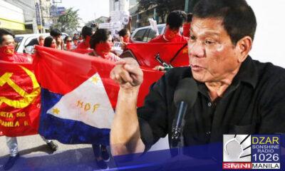 Binalaan ni Pang. Rodrigo Duterte ang mga political warlords at New People's Army na huwag makialam sa May 2022 elections.