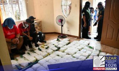 Nasamsam ng mga awtoridad ang P1.28 bilyong halaga ng hinihinalang shabu sa buy-bust operation sa Bacoor City, Cavite.