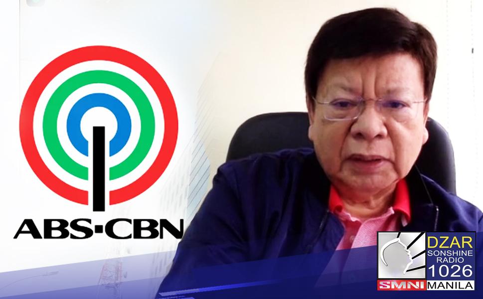 Nadidismaya si Representative at Deputy Speaker Rodante Marcoleta sa mga kakandidatong senador na nangangakong ibabalik ang prangkisa ng ABS-CBN.