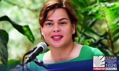 Buo na ang desisyon ng presidential daughter Mayor Sara Duterte na hindi ito tatakbo sa pagkapangulo sa susunod na election.
