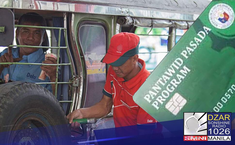 Iminungkahi ni Gatchalian ang muling pagpapatupad ng Pantawid Pasada Program bilang ayuda sa public transport sector dahil sa nangyayarinng Oil Price Hike.
