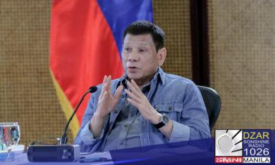 Iginiit ni Pangulong Rodrigo Duterte na ginawa niya ang tamang desisyon na magretiro sa pulitika.