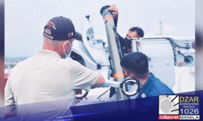 Opisyal nang tinanggap ng Philippine Navy ang kauna-unahang Surface-To-Air Missile ng bansa