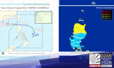 4 katao ang naiulat na nasawi sa pananalasa ng Bagyong Maring.