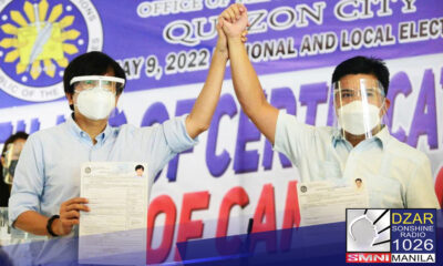 Nakapaghain na ng Certificate of Candidacy (COC) si Anakalusugan Party-list Rep. Mike Defensor sa pagka-mayor ng Quezon City