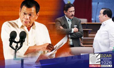 Ginawa ng pormal ni Pangulong Rodrigo Duterte ang kanyang utos sa mga opisyal ng gabinete na huwag dumalo sa imbestigasyon ng Senado sa umano'y maling paggamit ng pandemic funds.