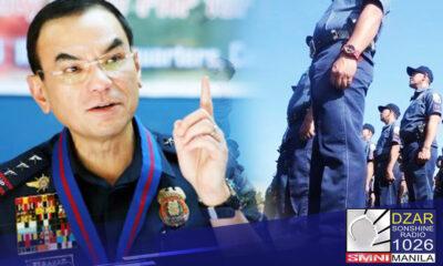 Pinaalalahanan ni PNP chief Police General Guillermo Eleazar ang mga pulis na manatiling apolitical o huwag makisawsaw sa halalan sa Mayo 2022