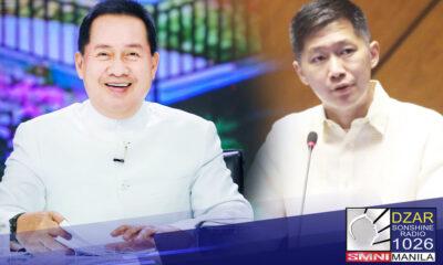 Nagpasalamat ang kinatawan ng Benguet sa Kongreso na si Eric Yap kay Pastor Apollo C. Quiboloy dahil sa paghahatid nito ng tulong sa mga biktima ng Bagyong Maring.