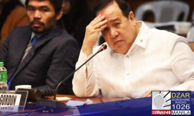 No show na sa pagdinig ng Senate Blue Ribbon ngayon araw sila Health Sec. Francisco Duque III maging ang dating opisyal ng PS-DBM na si Christopher Lyod Lao