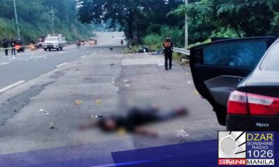 Patay ang anim na holdaper nang makaengkwentro ang mga pulis sa Barangay San Jose, Antipolo City.