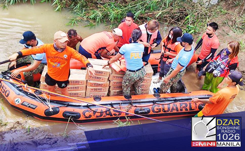 Nakatutok ang Malacañang sa isinasagawang mga operasyon ng iba't ibang ahensya ng pamahalaan sa mga residenteng naapektuhan ng Bagyong Maring.
